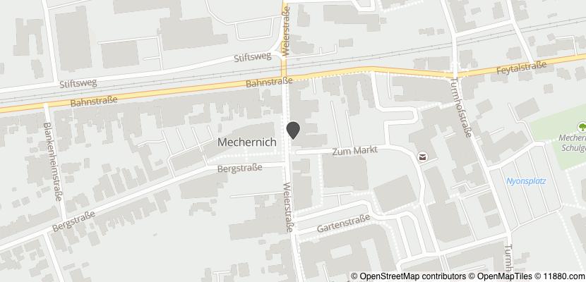 Auf Stadtplan Mechernich anzeigen