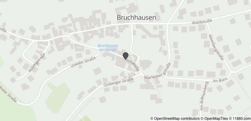 Auf Stadtplan Bruchhausen, Westerwald anzeigen