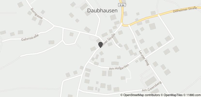 Auf Stadtplan Ehringshausen, Dill anzeigen