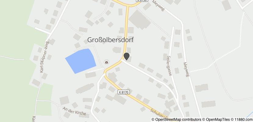 Auf Stadtplan Großolbersdorf anzeigen