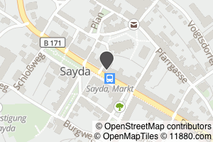 Auf Stadtplan Sayda anzeigen