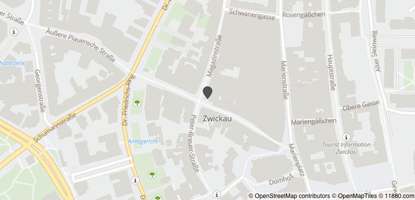 Auf Stadtplan Zwickau anzeigen