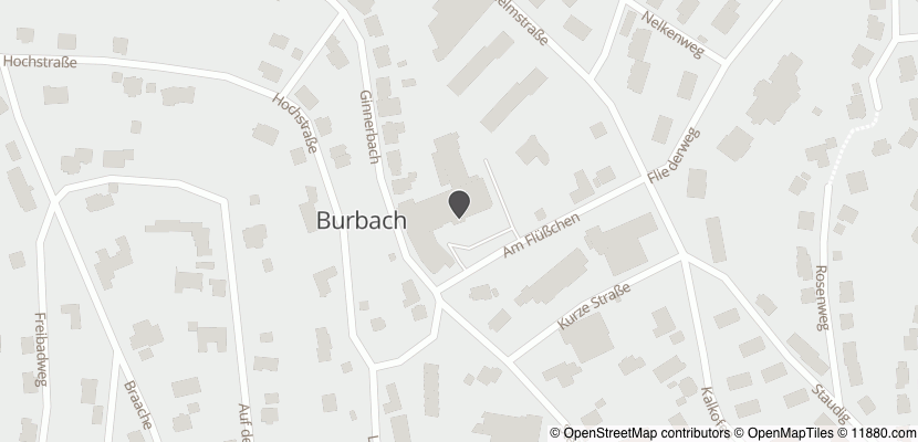 Auf Stadtplan Burbach, Siegerland anzeigen