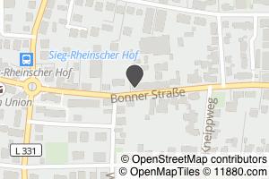 Auf Stadtplan Hennef, Sieg anzeigen