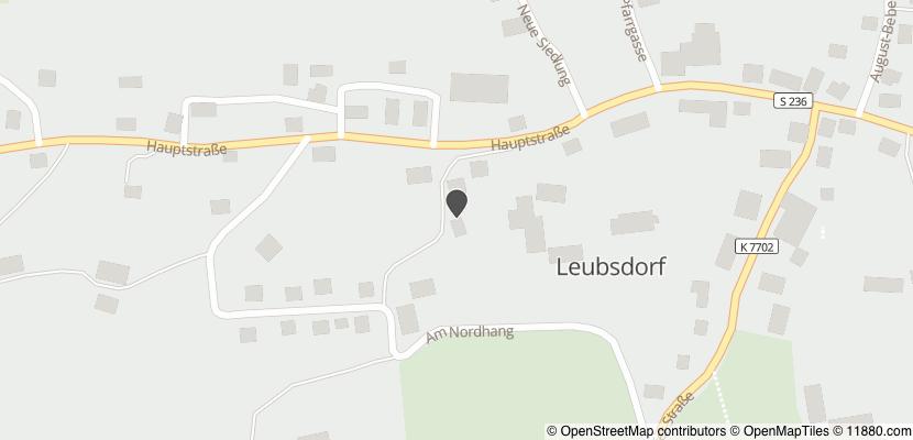 Auf Stadtplan Leubsdorf, Sachsen anzeigen