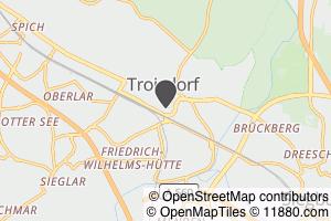 Auf Stadtplan Troisdorf anzeigen