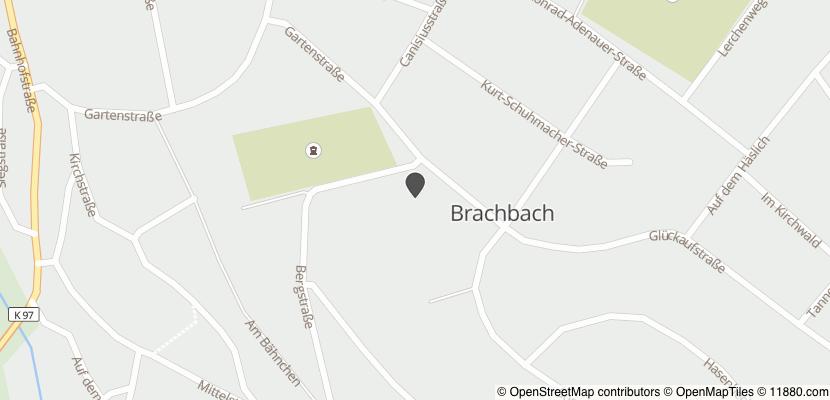 Auf Stadtplan Brachbach, Sieg anzeigen