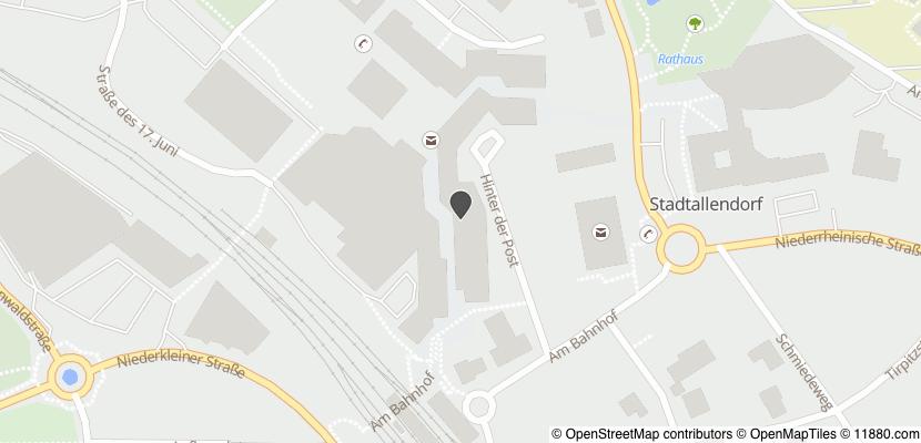 Auf Stadtplan Stadtallendorf anzeigen