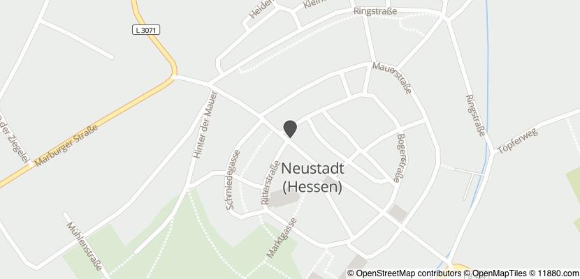 Auf Stadtplan Neustadt, Hessen anzeigen