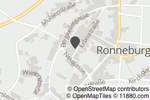 Auf Stadtplan Ronneburg, Thüringen anzeigen