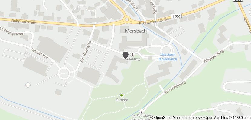 Auf Stadtplan Morsbach, Sieg anzeigen