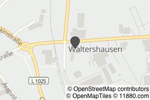 Auf Stadtplan Waltershausen, Thüringen anzeigen