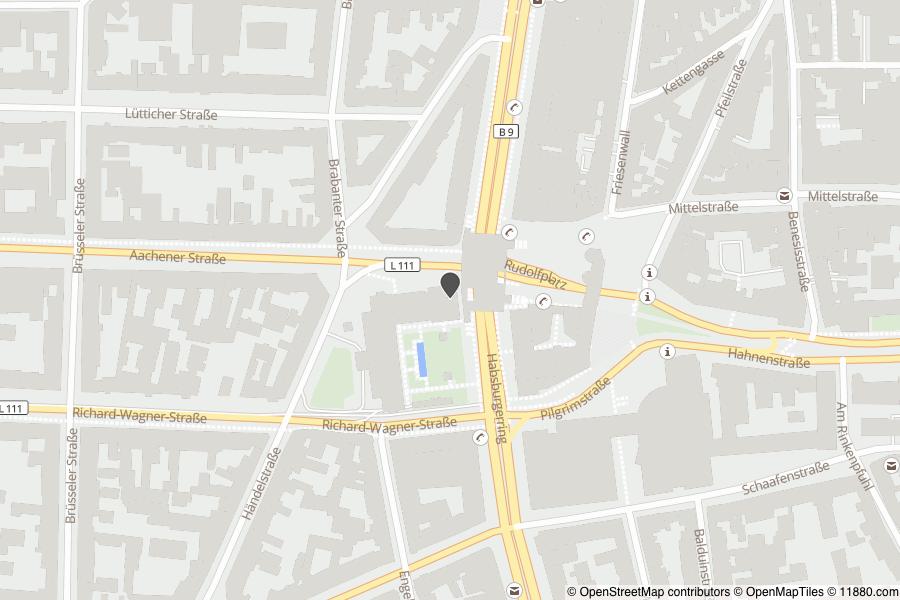 ▷ Barceló Cologne City Center ✅ | Tel. (0221) 228... ☎ - Adresse
