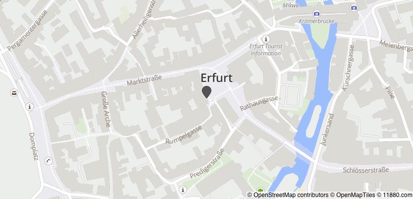 Auf Stadtplan Erfurt anzeigen