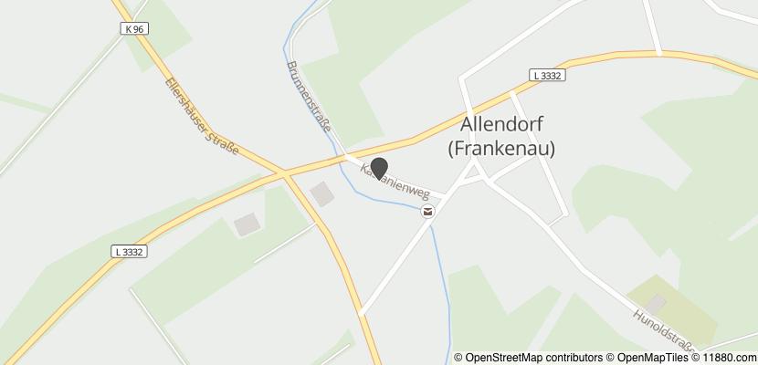 Auf Stadtplan Frankenau, Hessen anzeigen