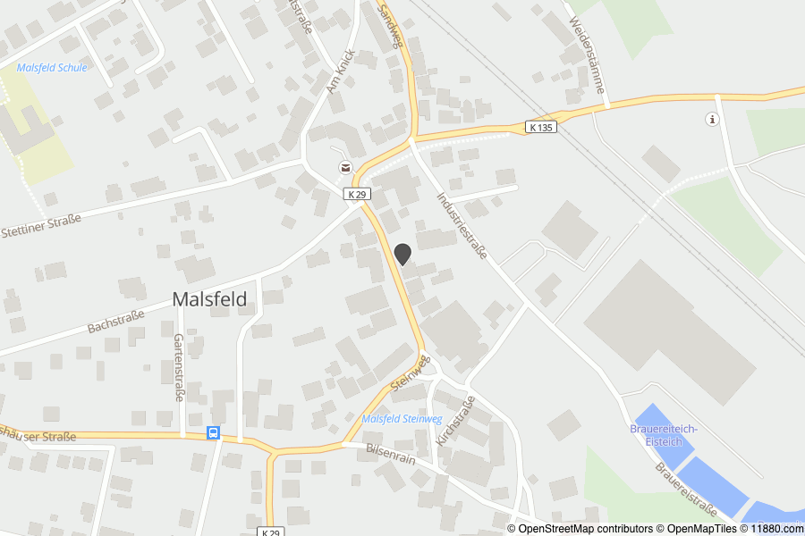 Auf Stadtplan Malsfeld Anzeigen