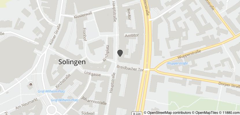 Auf Stadtplan Solingen anzeigen