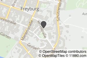 Auf Stadtplan Freyburg, Unstrut anzeigen