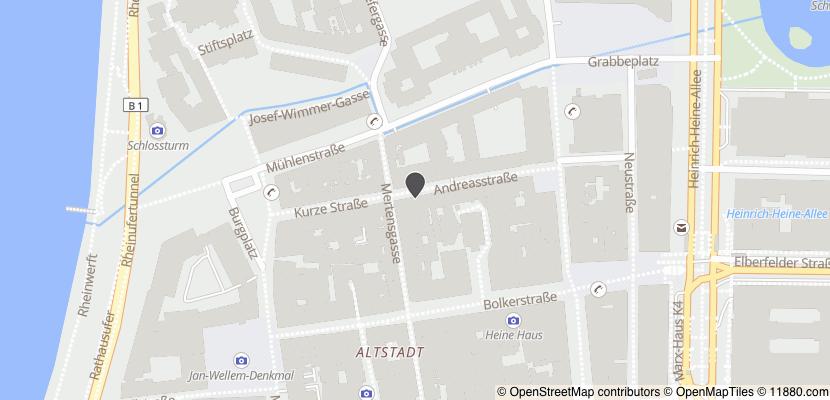 Auf Stadtplan Düsseldorf anzeigen