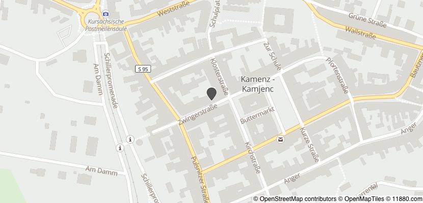 Auf Stadtplan Kamenz anzeigen