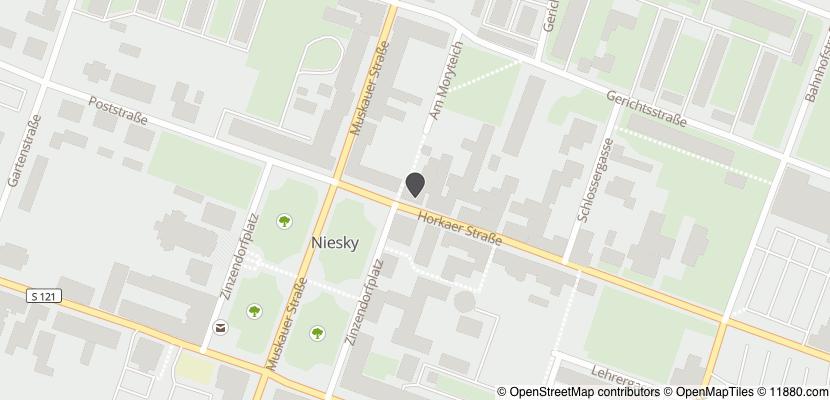 Auf Stadtplan Niesky anzeigen
