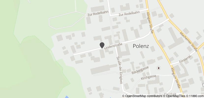 Auf Stadtplan Polenz bei Wurzen anzeigen