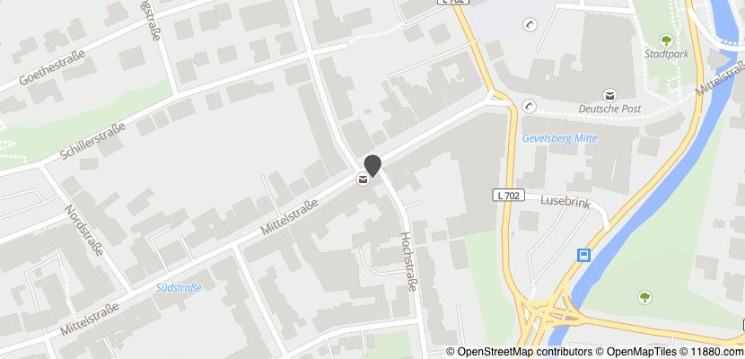 Auf Stadtplan Gevelsberg anzeigen