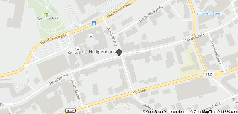 Auf Stadtplan Heiligenhaus bei Velbert anzeigen
