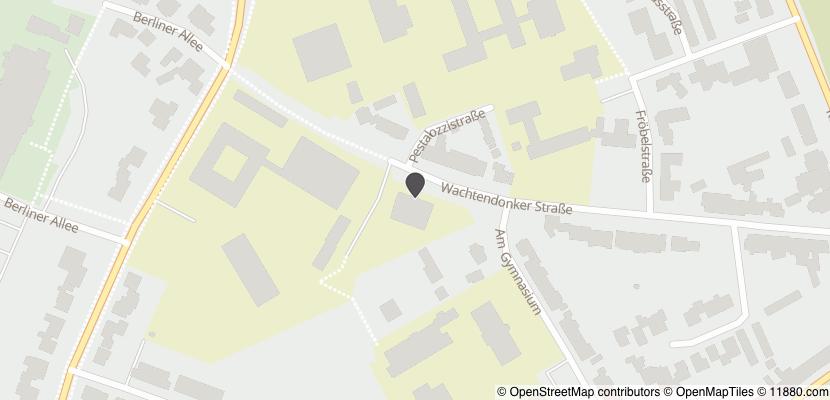 Auf Stadtplan Kempen, Niederrhein anzeigen