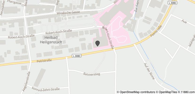 Auf Stadtplan Heilbad Heiligenstadt anzeigen