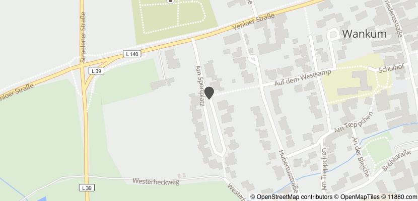Auf Stadtplan Wachtendonk anzeigen