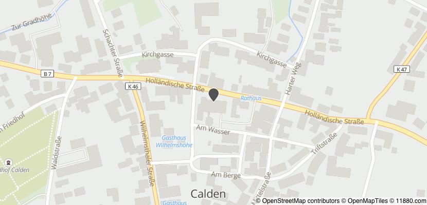 Auf Stadtplan Calden, Hessen anzeigen