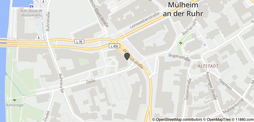 Auf Stadtplan Mülheim an der Ruhr anzeigen