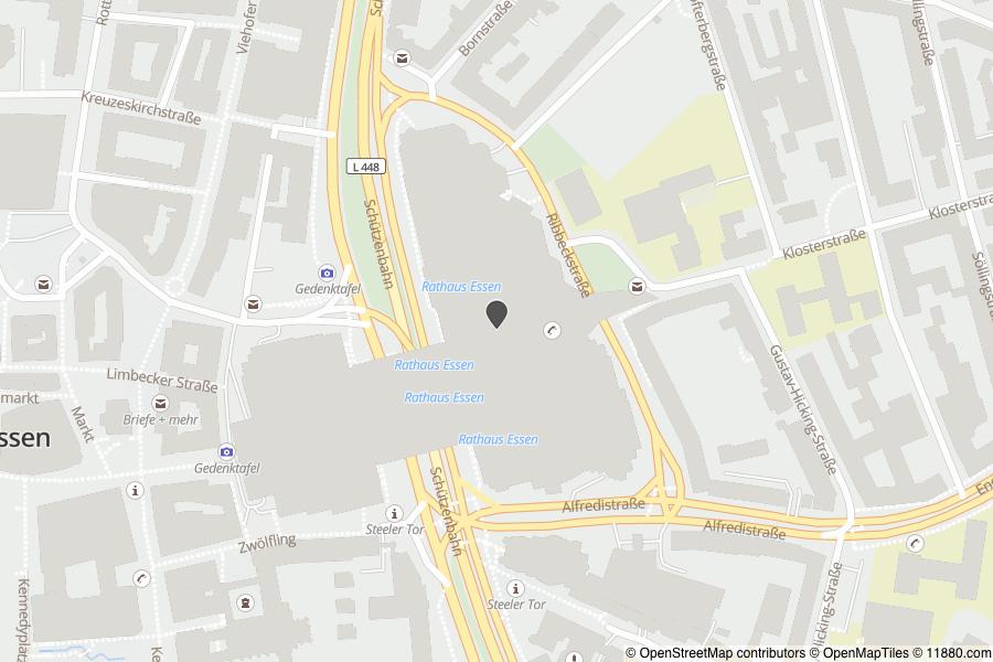 Schw303244bische Alb Karte.Stadt Essen Karte