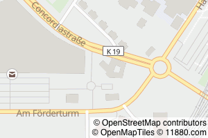 Auf Stadtplan Oberhausen, Rheinland anzeigen