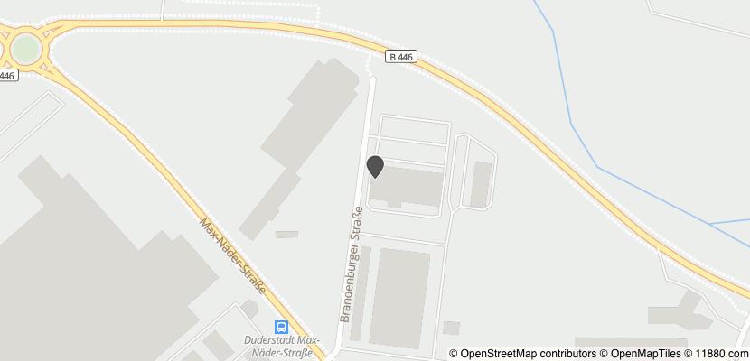 Auf Stadtplan Duderstadt, Niedersachsen anzeigen