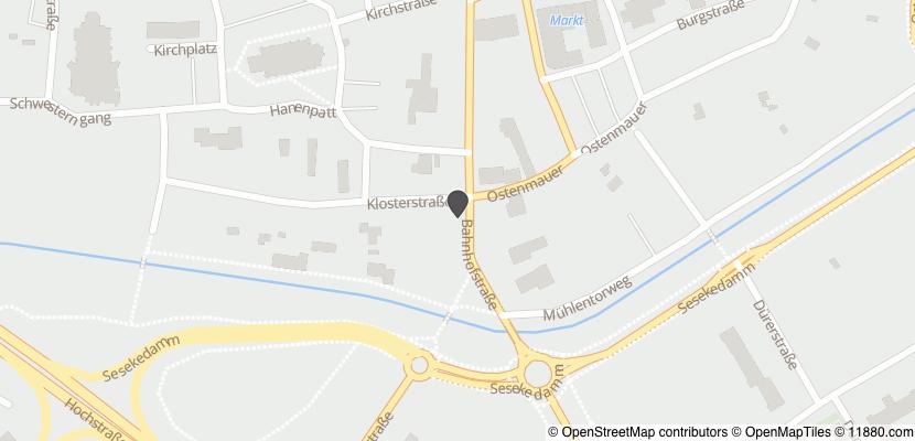 Auf Stadtplan Kamen, Westfalen anzeigen