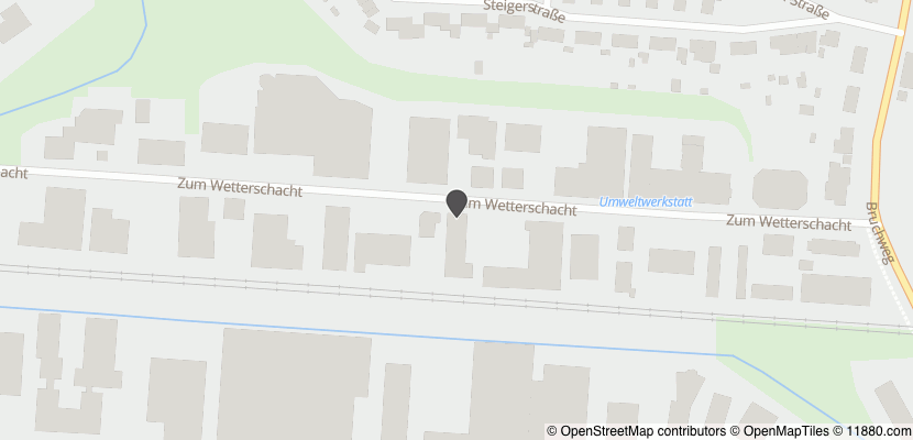Auf Stadtplan Recklinghausen, Westfalen anzeigen