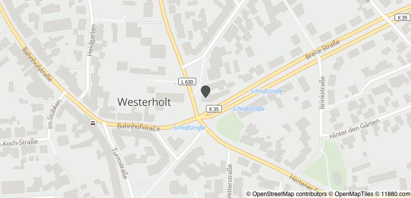 Auf Stadtplan Herten, Westfalen anzeigen
