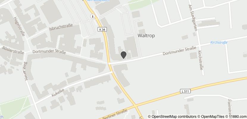 Auf Stadtplan Waltrop anzeigen