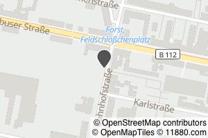 Auf Stadtplan Forst, Lausitz anzeigen