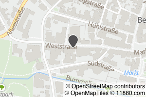 Auf Stadtplan Beckum, Westfalen anzeigen