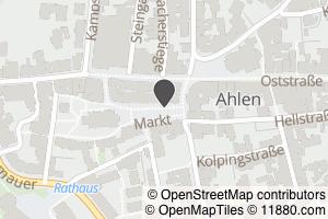 Auf Stadtplan Ahlen, Westfalen anzeigen