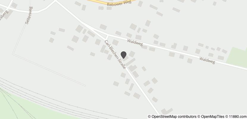 Auf Stadtplan Vetschau, Spreewald anzeigen
