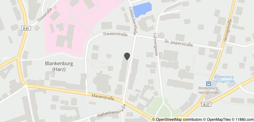 Auf Stadtplan Blankenburg, Harz anzeigen