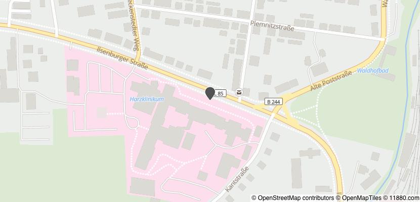 Auf Stadtplan Wernigerode anzeigen