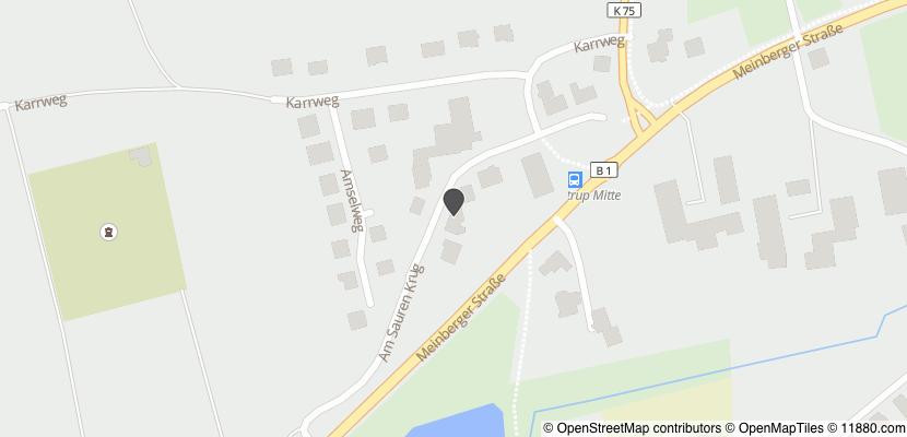 Auf Stadtplan Blomberg, Lippe anzeigen