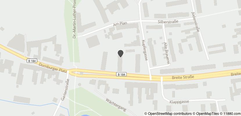 Auf Stadtplan Zerbst, Anhalt anzeigen