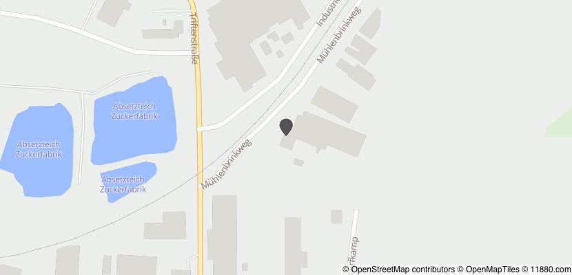 Auf Stadtplan Lage, Lippe anzeigen