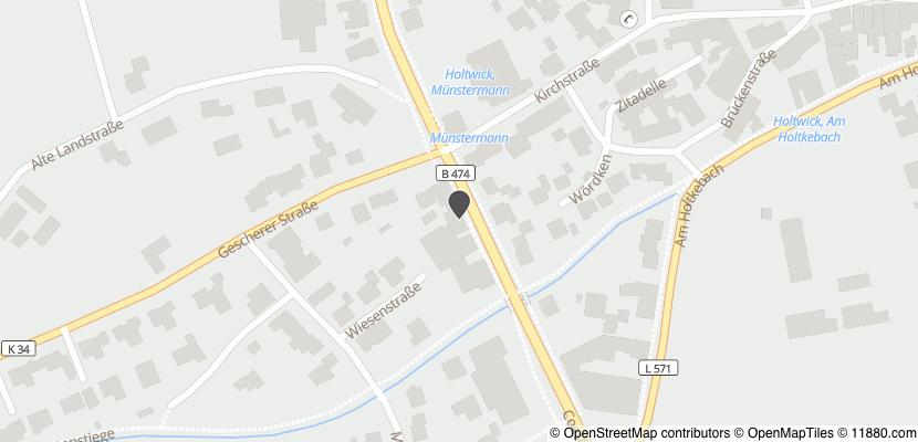 Auf Stadtplan Rosendahl, Westfalen anzeigen